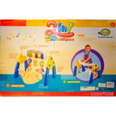 2 in 1 Infant Gym / Toddler Piano