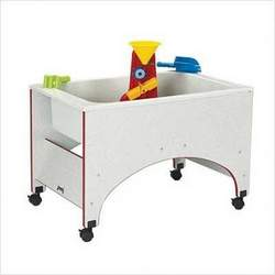 Rainbow Accents Space Saver Sand-n-Water Table Accents: Red