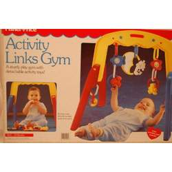 Activity Links Gym - Play Gym With Detachable Activity Toys
