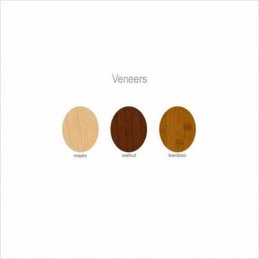 Tea Pod Tray Veneer: Amber Bamboo