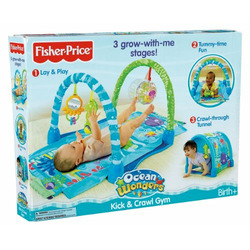 Fisher-Price Ocean Wonders Kick and Crawl Gym