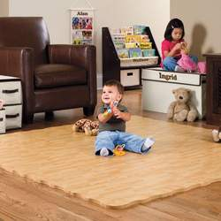 26-Piece Natural Foam Play Mat