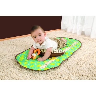 Infantino Tummy Time Mat, Green