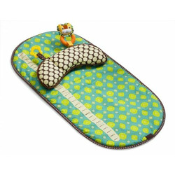 Infantino Tummy Time Mat, Green
