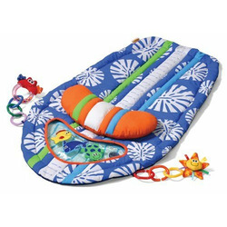 Infantino Surfboard Tummy Time Mat Blue
