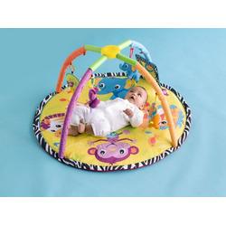 Infantino Round Twist and Fold Activity Gym, Baby Animals