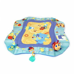 Bright Starts Baby's Play Place Mat, Blue