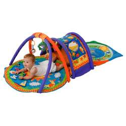 Jollybaby Sensational Play Park Discovery Gym and Playmat