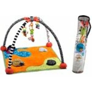 Kushies Zolo Shangrila Multi-Sensory Activity Mat and Portico Archway Accessory