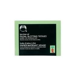 Tea tree facial blotting tissue