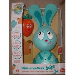 HIDE & SEEK JOJO INTERACTIVE BUNNY JO JO FRIENDS LOVES TO PLAY HIDE N SEEK