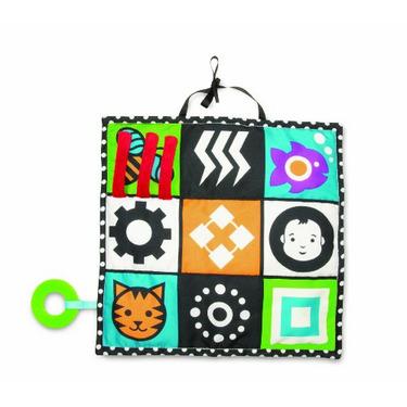 Manhattan Baby Wimmer-Ferguson Black & White 3-in-1 Triangle Play Mat