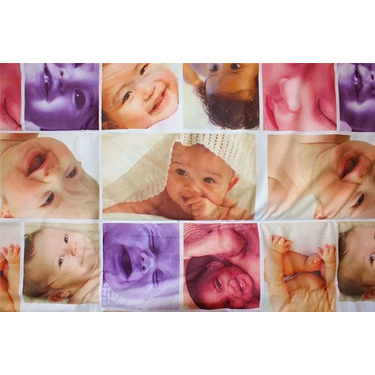 Baby Faces Photo Activity Quilt Playmat - Tupelo Toys