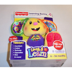 Fisher Price Laugh & Learn Learning Bunny