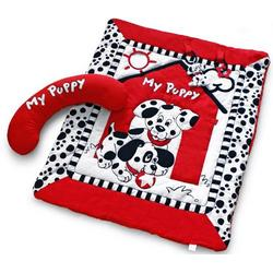 Black, White & Red Prop-Up Activity Playmat