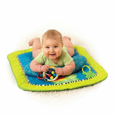 Bright Starts Tummy Prop & Play Activity Mat, Turtle