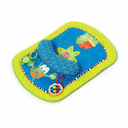 Bright Starts Tummy Prop & Play Activity Mat, Turtle