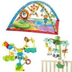 Tiny Love Gymini Monkey Island Activity Gym Bundle