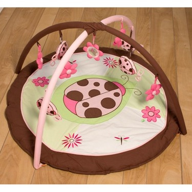 Pam Grace Lady Bug Lucy Baby Play Mat Gym