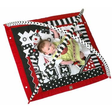 Tiny Love Gymini - Black, White & Red