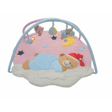 New Sleeping Bear Activity Baby Gym Playmat