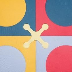 Kids Activity Mats: Kids Colorful Foam Tiles, Brights Playspot Tiles