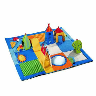 Dwarf's Land Playing Rug by HABA