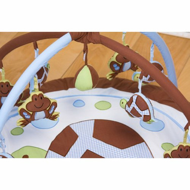 Pam Grace Mr. and Mrs. Pond Play Mat Gym