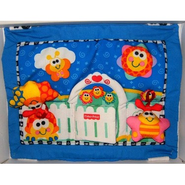 Fisher Price Bolster Activity Quilt