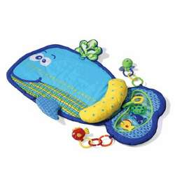 Infantino Whale Tummy Time Mat