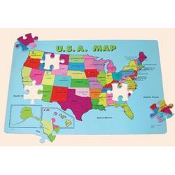 Edushape 54 Piece USA Floor Map