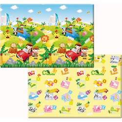 Dwinguler Eco-friendly Kids Play Mat - Safari Tour (Medium)