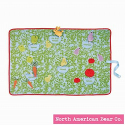 Garden Hop Activity Blanket Mat by North American Bear Co.