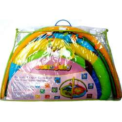 Deluxe Plush Infant Baby Early Learning Educational Activity Playmat