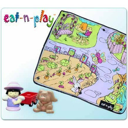 Homegrown Kids My Pretty Garden Replacement Playmat (for Activity Cooler)