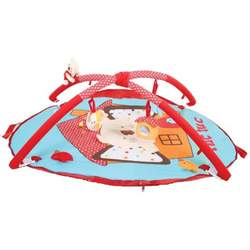 Red Koala Baby Activity Gym Play Mat. Koala Collection.