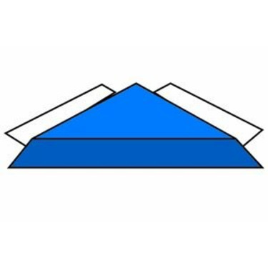 BLUE TRIANGLE SAFETY PANEL