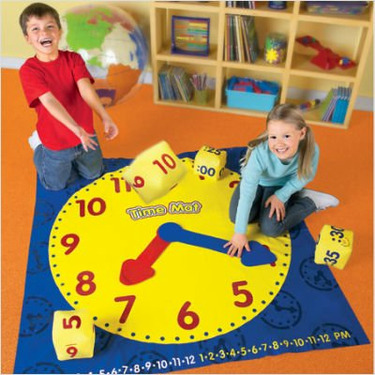 Learning Resources LER2981 Time Activity Mat