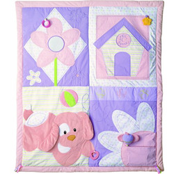 "Gund Baby 46.5"" Spunky Activity Playmat - Pink"