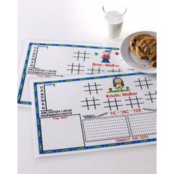 Girls Activity Place Mat