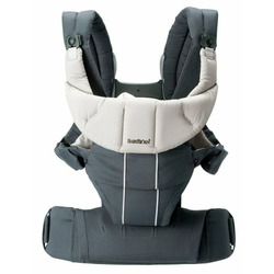 BABYBJÖRN Organic Comfort Carrier, Anthracite Gray