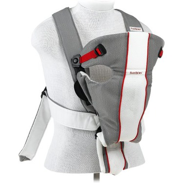 Baby Bjorn Baby Air Carrier, Grey/White