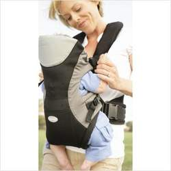 Infantino Front 2 Back Rider Baby Carrier, Black and Grey