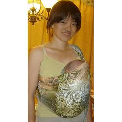 Lite-on-Shoulder Baby Sling(lime)