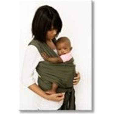 Sleepy Wrap Classic Wrap Baby Carrier, Gray, 0-18 Months
