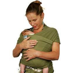 Moby Wrap Baby Carrier- Olive