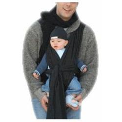 Baby Ktan Baby Carrier, Black, Medium
