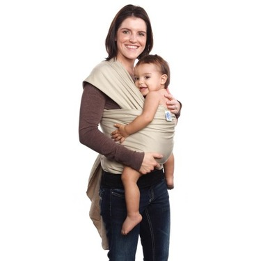 Moby Wrap UV 50+ SPF Baby Carrier, Sand