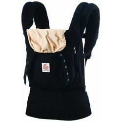 Ergo Baby Carrier - Black/Camel
