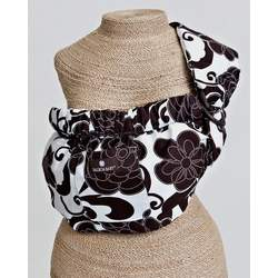 Balboa Baby Adjustable Sling by Dr. Sears-Dotted Daisy Brown